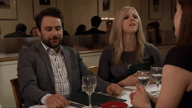 Watch cheese GIF on Gfycat. Discover more celebs, charlie day, kaitlin olson GIFs on Gfycat