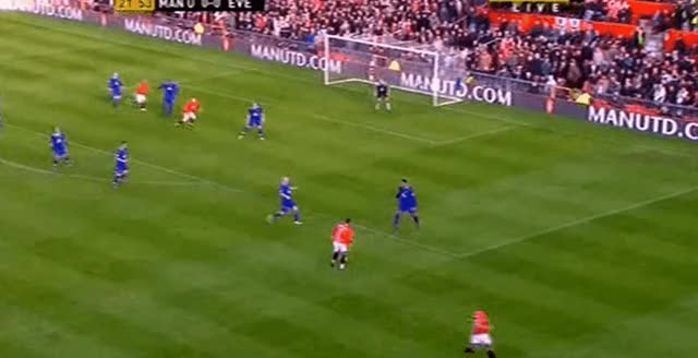 Watch and share Cristiano Ronaldo Longshot Goal Vs Everton 23.12.2007 GIFs by FIFPRO Stats on Gfycat