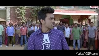 Watch and share Yevadu Movie || Sai Kumar And Ram Charan Fight Scene || Ramcharan, Shruti Haasan GIFs on Gfycat