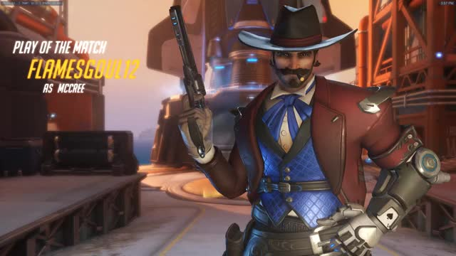 Watch Christian's McCree POTG GIF by @brunocee on Gfycat. Discover more 120fpsgameplay GIFs on Gfycat