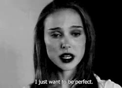 Watch and share Depressed Black Swan Natalie Portman Black And White Gif GIFs on Gfycat
