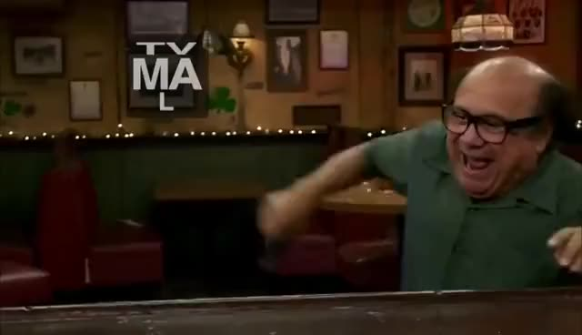 Watch and share IASIP - Frank Snorting Coke - GO FOR IT! GIFs on Gfycat