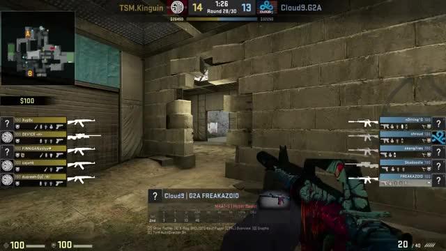 When freakazoid says that s1mples aim sucks (reddit)