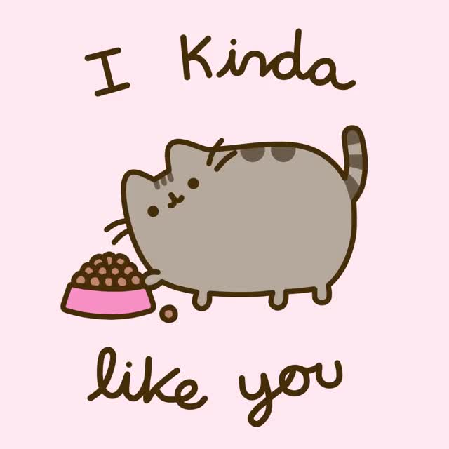 Watch and share Happy Valentines Day GIFs and Pusheen GIFs on Gfycat
