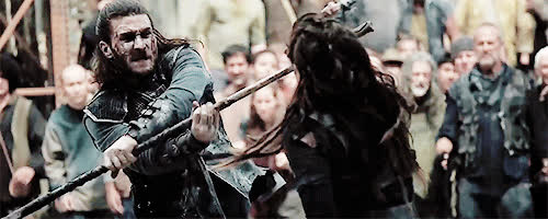 fight, fighting, the 100, Lexa the GIFs