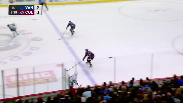 Watch and share Colorado Avalanche GIFs and Vancouver Canucks GIFs by Beep Boop on Gfycat