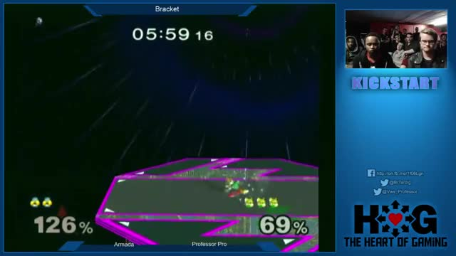 Armada (Sheik) vs Professor Pro (Fox) - Kickstart 5