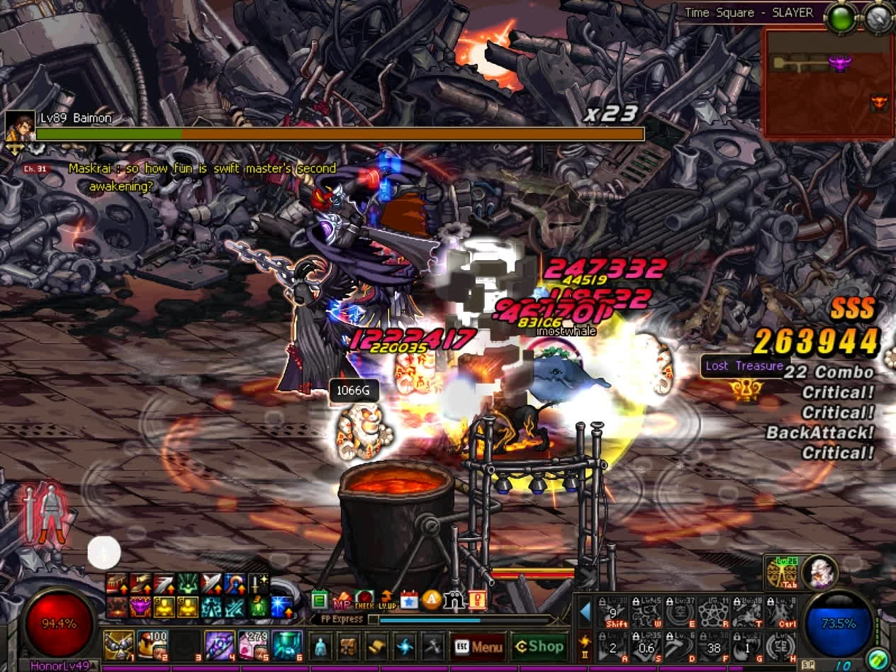 60fps, dfo, mmorpg, DFO Hell Mode Vol.80 GIFs