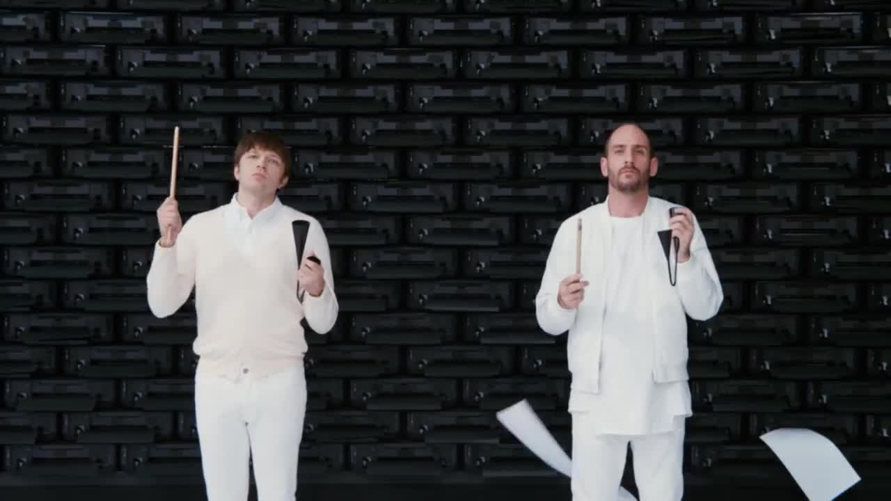 OK Go, concerts, greenpeace, live, music, obsession, official, ok go, paper, printer, video, From side to side GIFs