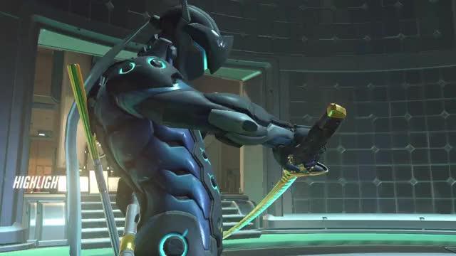 cyborg stabs flying women 18-07-23 18-59-26 GIF | Find, Make
