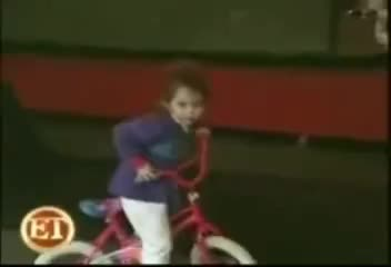 baby, bike, mileycyrus, Baby Miley is Cycling GIFs