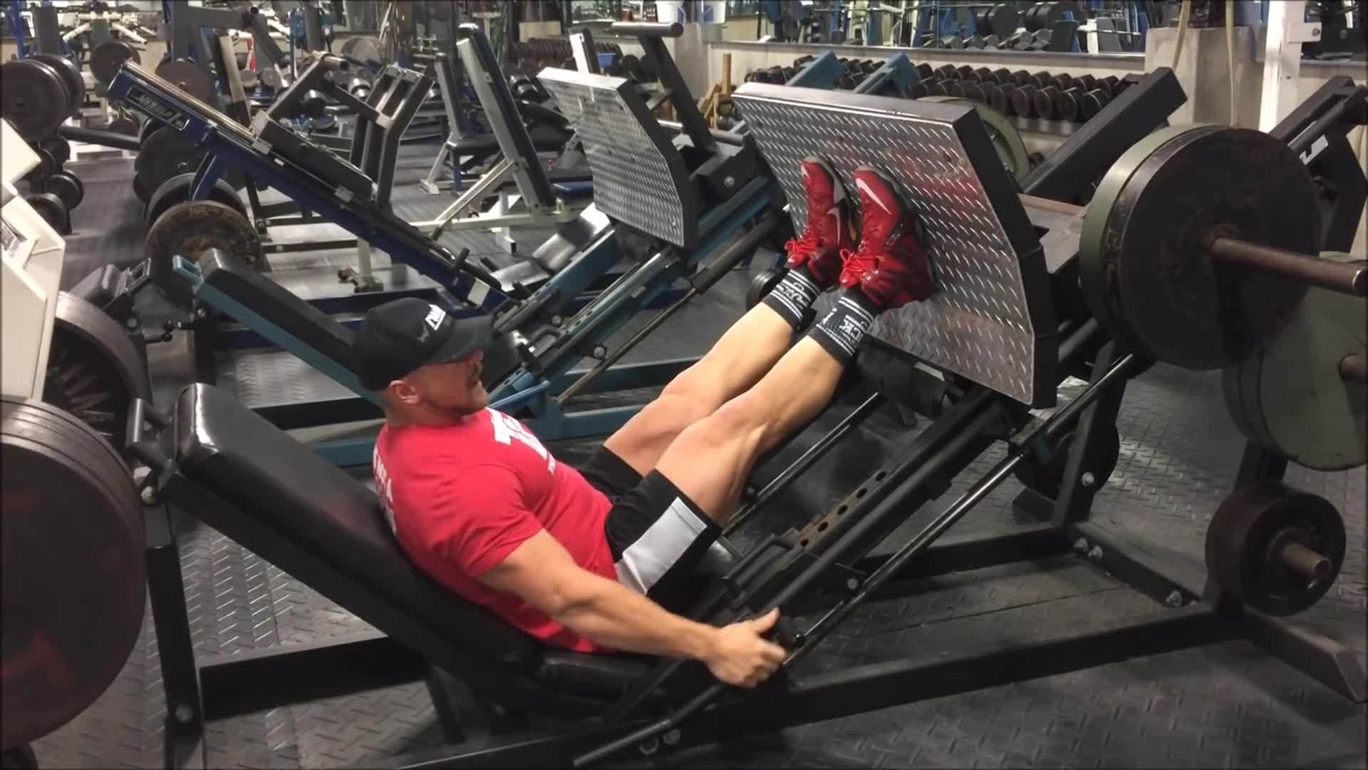 best work out, muscle and fitness, work out routines, 45 Degree Leg Press Machine GIFs
