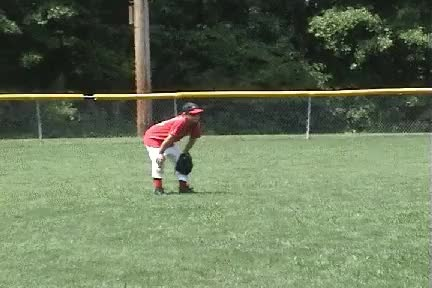 Watch coach pitch outfield 2 GIF by @motherlode on Gfycat. Discover more related GIFs on Gfycat