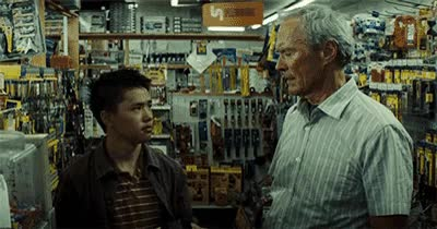 Watch gran torino GIF on Gfycat. Discover more clint eastwood GIFs on Gfycat