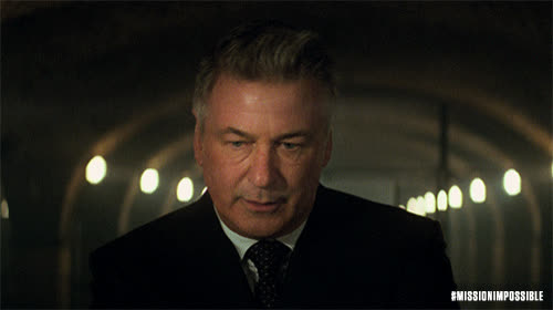 action, alex baldwin, blockbuster, epic, m.i., mission impossible, mission impossible fallout, mission: impossible, missionimpossible, missionimpossible360, movies, paramount pictures, Alec Baldwin Smolder GIFs