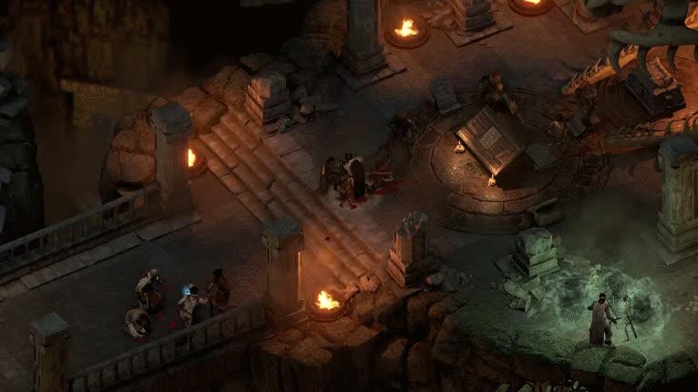 POE2, Pillars of Eternity 2: Deadfire - Combat GIFs