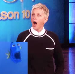 Watch and share Ellen Degeneres GIFs and Finding Nemo 2 GIFs on Gfycat
