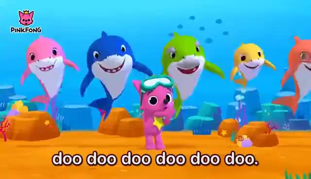 Watch and share Baby Shark | Sing And Dance! | Animal Songs GIFs on Gfycat