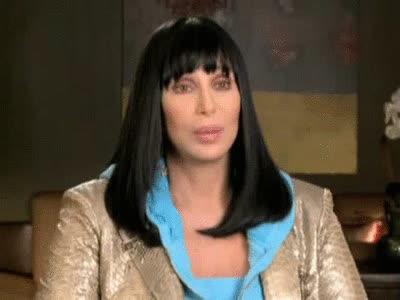 cher, music, Cher Blinking Gif GIFs