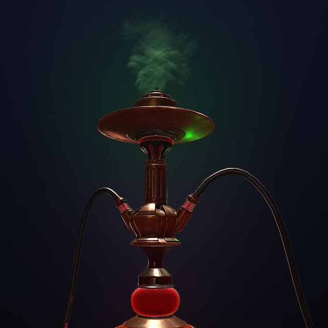 Watch Hookah_WIP11 GIF by PHRISK (@phrisk) on Gfycat. Discover more 3d, 3dart, 3dsmax, animation, cg, hookah, marmoset, zbrush GIFs on Gfycat