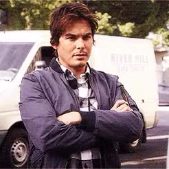 Watch and share Pretty Little Liars GIFs and Tyler Blackburn GIFs on Gfycat
