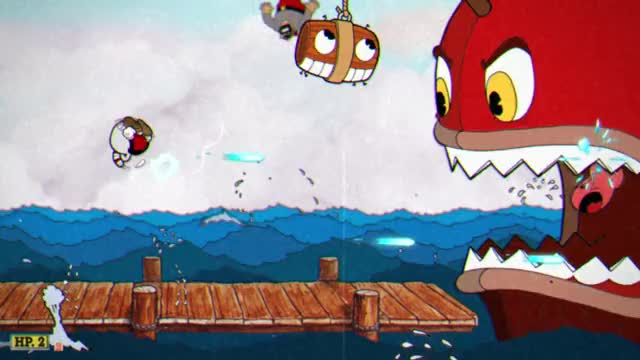 Watch and share Cuphead Laser GIFs by poule. on Gfycat