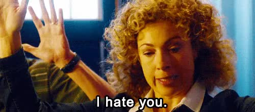 Watch and share Alex Kingston GIFs and Peter Capaldi GIFs on Gfycat