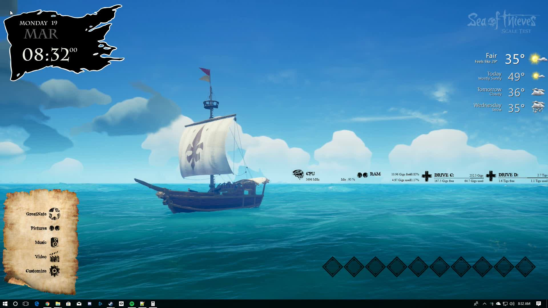 Sea Of Thieves Background 2 Gif By Nate Gfycat