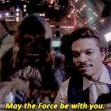 Watch and share Good Luck, Star Wars Style GIFs by Reactions on Gfycat