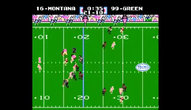 Watch and share Tecmo GIFs and Bowl GIFs on Gfycat