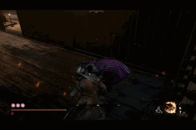Watch and share Mikiri GIFs and Sekiro GIFs by sorodoryu on Gfycat