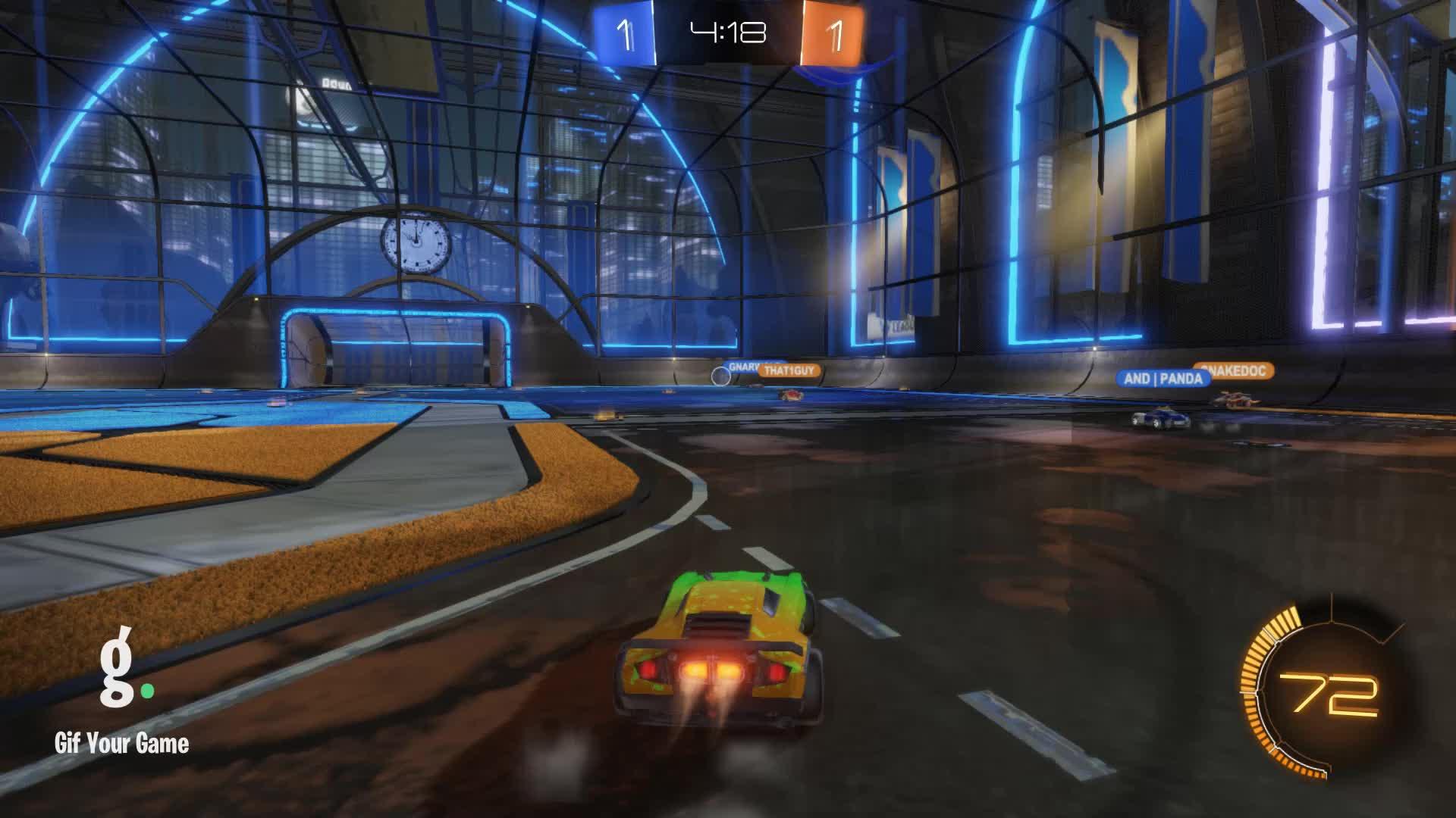 Gif Your Game, GifYourGame, Rocket League, RocketLeague, datboi | CLS, Goal 3: datboi | CLS GIFs