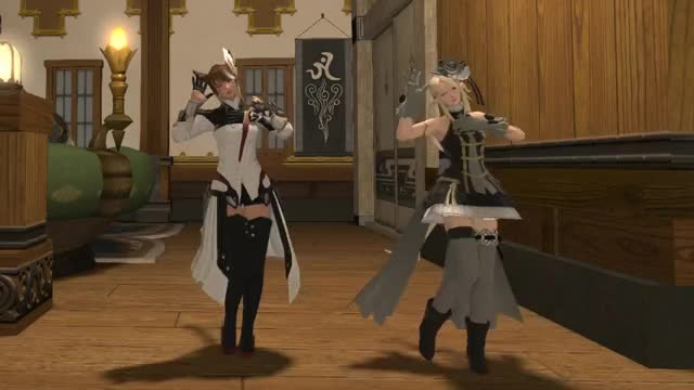 Watch New Dance FF14 GIF on Gfycat. Discover more related GIFs on Gfycat