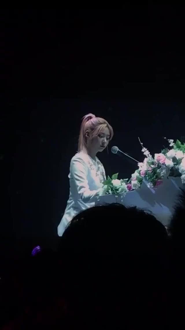 Watch and share MJ. - [#민쥬리] Piano + Ponytail!   #김민주 #아이즈원 #IZONEinHK GIFs on Gfycat