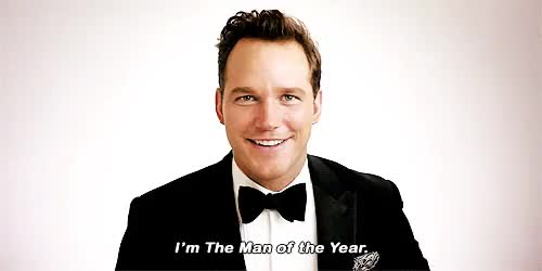 Watch and share Gq Men Of The Year GIFs and Chris Pratt GIFs on Gfycat
