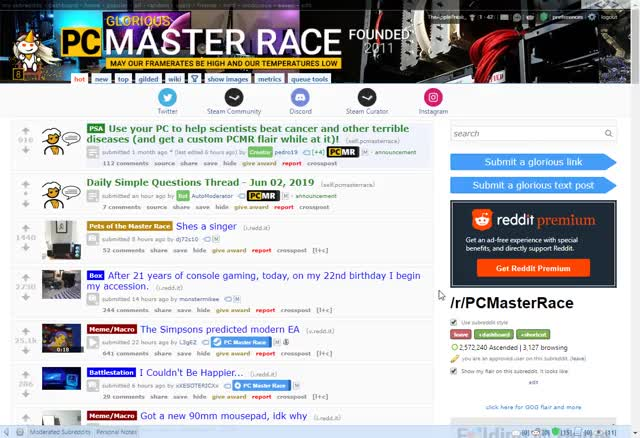 Watch and share Pc Master Race GIFs and Old Reddit GIFs by theapplefreak on Gfycat