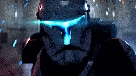 Watch and share Star-Wars-Battlefront-2-Clone-Commando GIFs on Gfycat