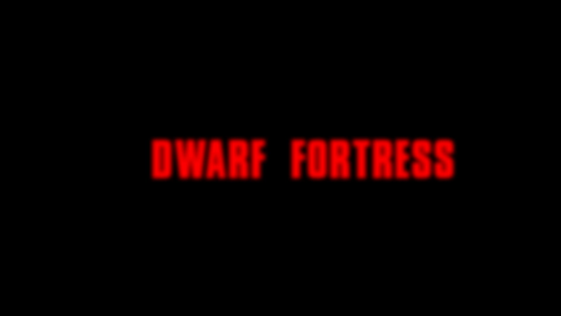 dwarffortress, opentoonz, Dwarf Fortress Title FX Test GIFs