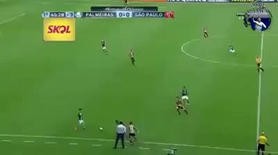 Watch and share Gol  De Cobertura Dudu Contra O São Paulo - 11/03/2017 GIFs on Gfycat