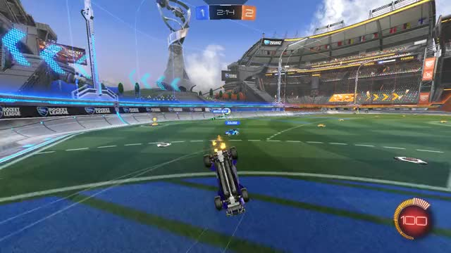 Watch and share RL - Double Touch Backboard Ranked GIFs by fuunay_rl on Gfycat
