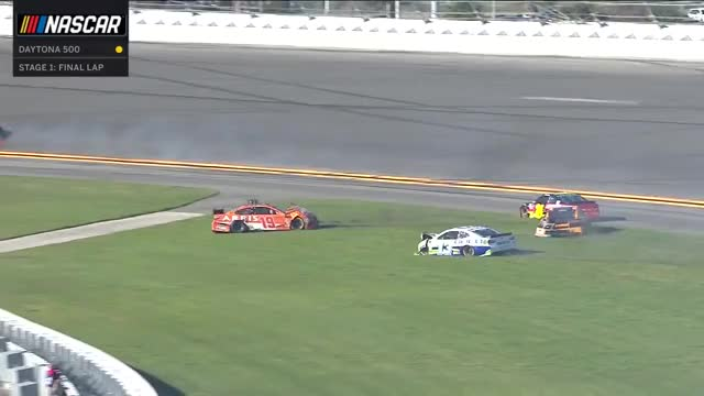 Watch Race Rewind: 2018 Daytona 500 GIF on Gfycat. Discover more Crashes, NASCAR, cutdown, raceing GIFs on Gfycat