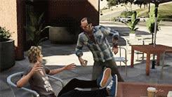 gif my gifs videogames Grand Theft Auto V gtav trevor phillips GIFs