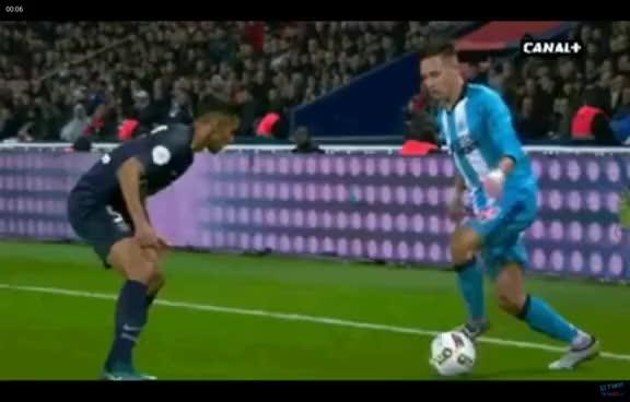 Watch and share Après Avoir Vue La Virgule Raté De Thauvin Ronaldinho Souffre Dun Malaise Cardiaque !!! GIFs on Gfycat
