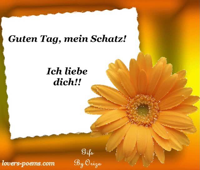 Watch and share Ich Liebe Dich animated stickers on Gfycat