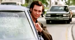 Watch and share Deal With It Ace Ventura GIFs on Gfycat