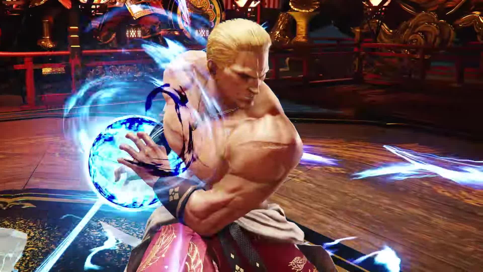 Tekken 7 Geese Howard Reveal Trailer Ps4 Xb1 Pc Gif Gfycat