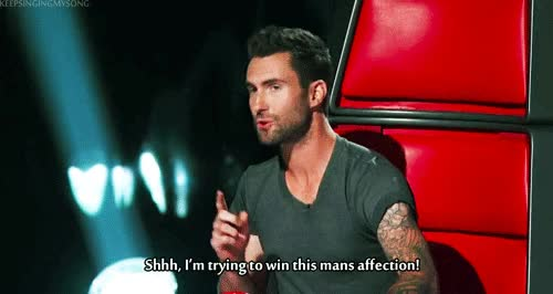 Watch and share Adam Levine Hilarious Gif GIFs on Gfycat
