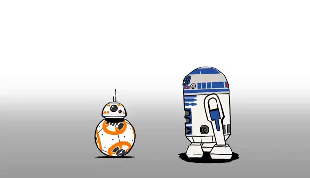 Watch and share One Up | Star Wars Blips GIFs on Gfycat