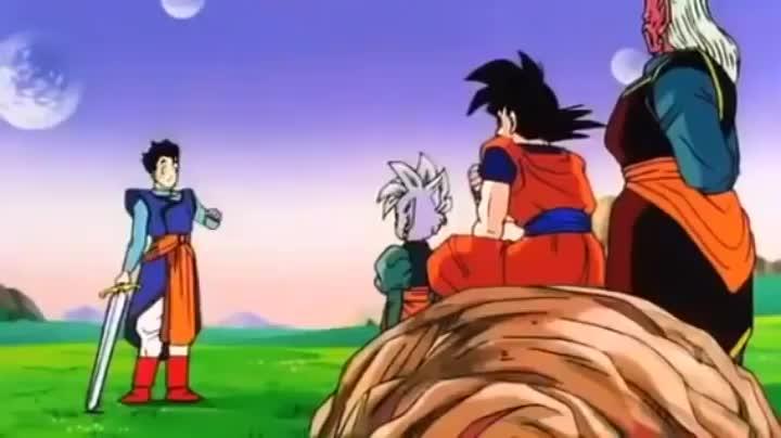 [Dragon Ball Z] Goku dies mid-sentence • r/QUALITYanime GIFs