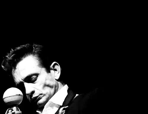 Watch this trending GIF on Gfycat. Discover more black and white, blues, gif, guitar, johnny cash, old GIFs on Gfycat